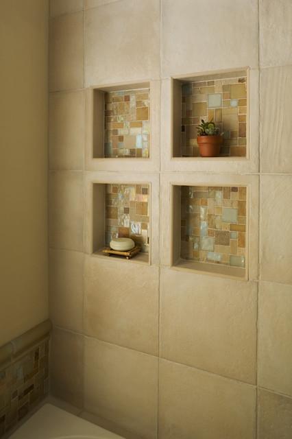 Bathtub niche for Bathroom niche design