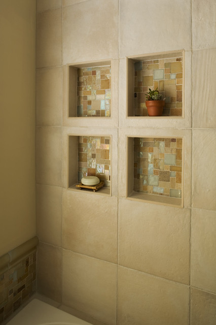 Perfect Bathtub Niche Traditional Bathroom
