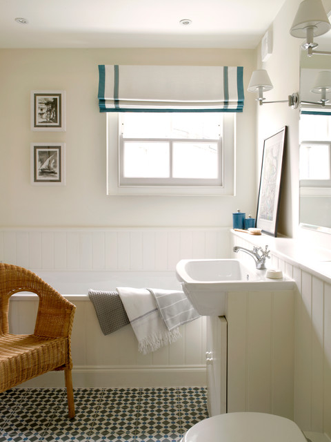 Battersea Victorian Terraced House Contemporary Bathroom