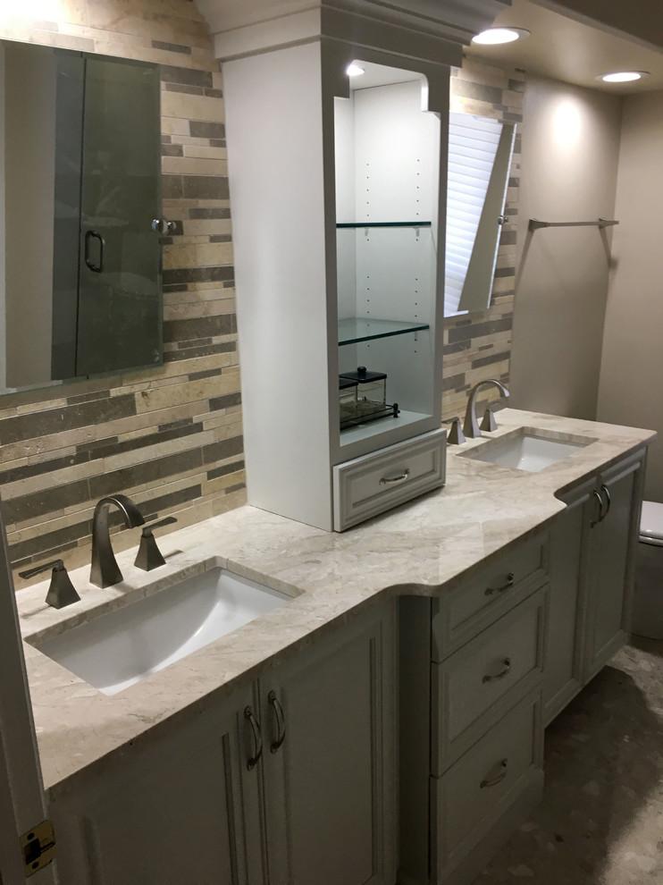 Bay Area Bathroom Remodel - Traditional - Bathroom - Tampa ...