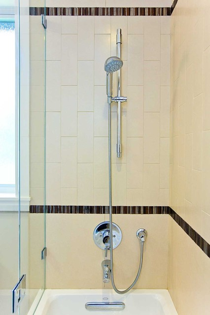 Bay area bathroom remodeling with shower over tub modern for Bay area bathroom remodel