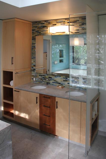 Bay Area Modern - Whole house remodel modern-bathroom