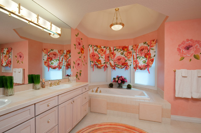 Bay harbor beauty traditional bathroom detroit by for Periwinkle bathroom ideas