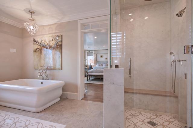 Bayshores Drive beach-style-bathroom