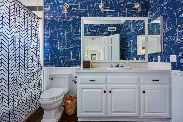 Bayshores redo traditional bathroom orange county - Bathroom vanities in orange county ...