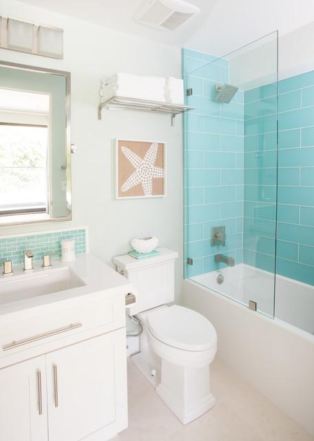 Bayside walk bord de mer salle de bain san diego par agk design studio - Salle de bain bord de mer ...