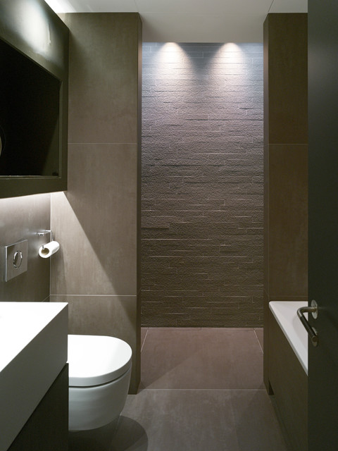 Bayswater contemporary bathroom london by mclean quinlan town Bathroom design jobs london