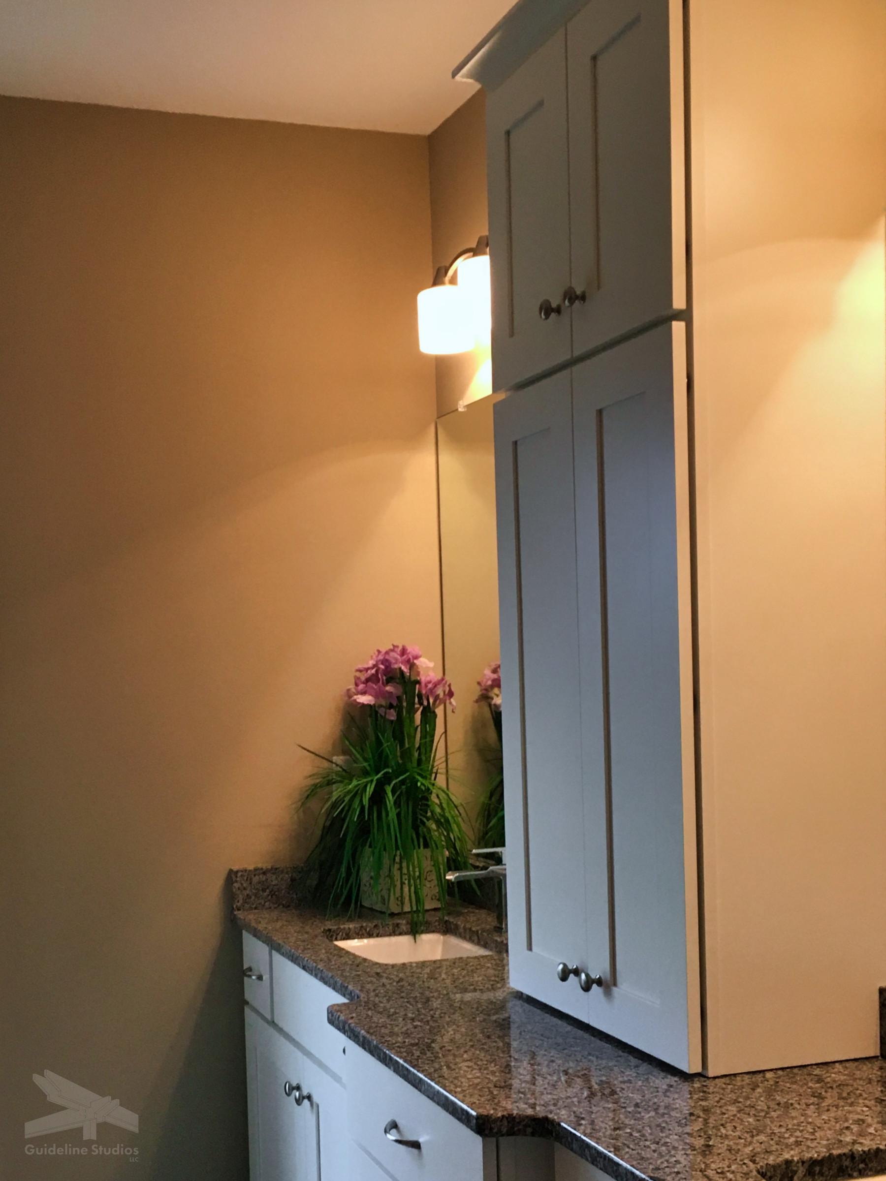 BBIII Master Bath Cabinets - Guideline Studios