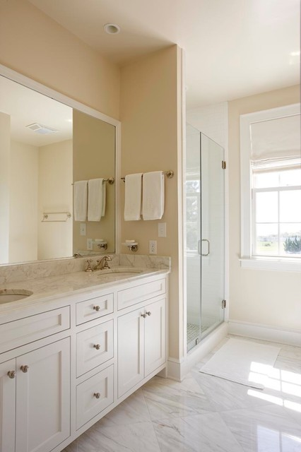 Beach Cottage Beach Style Bathroom Other Metro By KDW Home