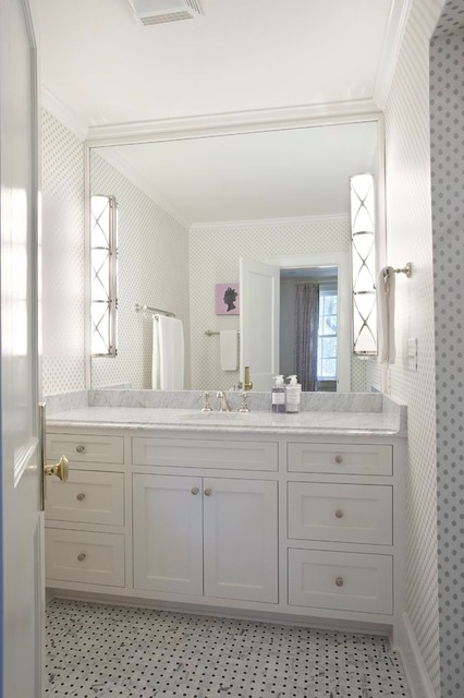 Beach Cottage Style Bathroom Other By KDW