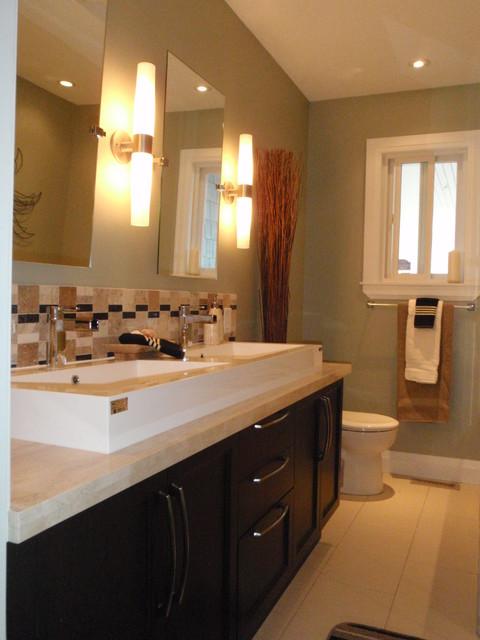 Beach Grove Renovation transitional-bathroom