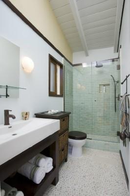 Beach House Bathroom contemporary-bathroom