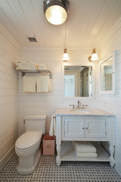 Beach House Bathroom - Beach Style - Bathroom - new york ...