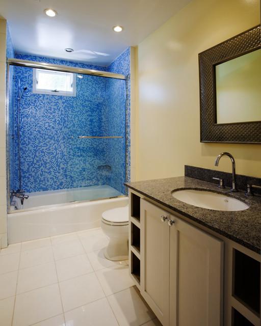Beach House - Children's bathroom - Transitional - Bathroom - Los ...