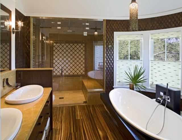 Beach House II contemporary-bathroom