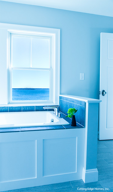 Beach House In Hull Massachusetts Coastal Bathroom Boston By Gmt Home Designs Inc
