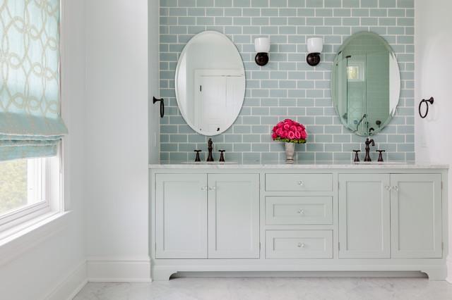 Beach house master bath beach style bathroom new for Bathroom designs york