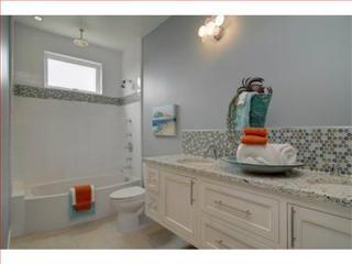 Beach House Modern + Craftsman For Sale beach-style-bathroom