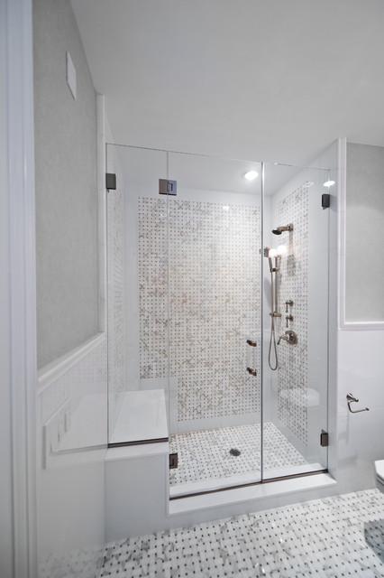 Beach House Coastal Bathroom New York by New York Shower Door