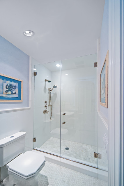 Lovely Cleaning Bathroom With Bleach And Water Small Kitchen And Bath Tile Flooring Solid Ugly Bathroom Tile Cover Up Clean The Bathroom With Vinegar And Baking Soda Youthful Renovation Ideas For A Small Bathroom FreshLowe S Canada Bathroom Cabinets Beach House   Beach Style   Bathroom   Other   By New York Shower Door
