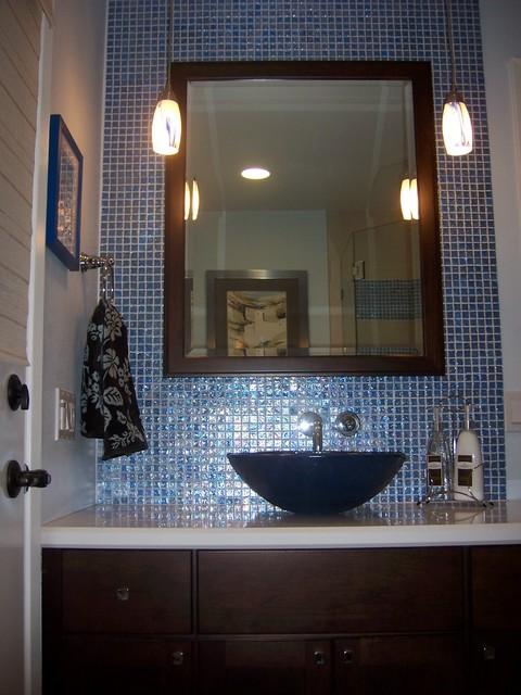 Beach Inspired Guest Bath Vanity
