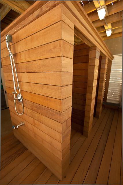 New Construction:  Atlantic Beach Ocean Front Home beach-style-bathroom