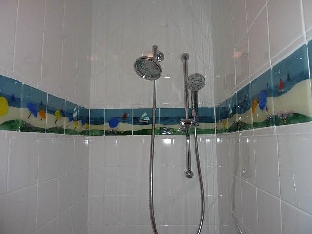 Tropical Bathroom Beach Decor: Beach Tiles