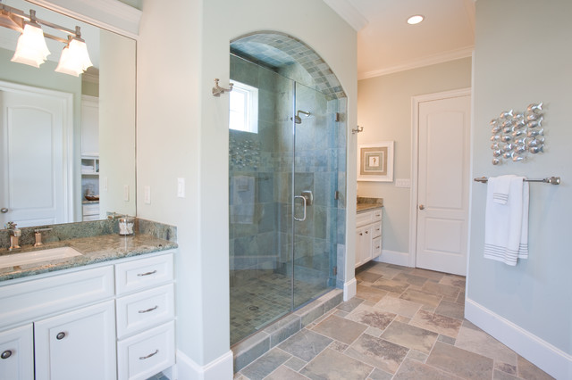 Beach Vacation Home Traditional Bathroom Houston By Creative Touch Interiors