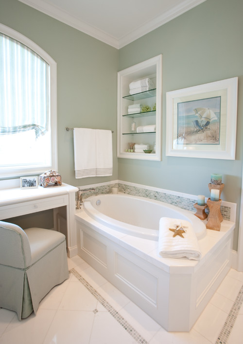 Color case study go green evolution of style for Bathroom interior design houston