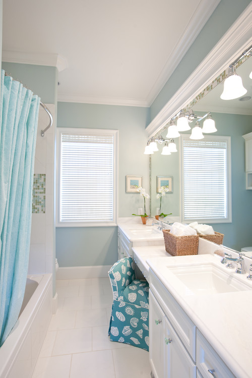 traditional coastal bathroom - Coastal Bathroom