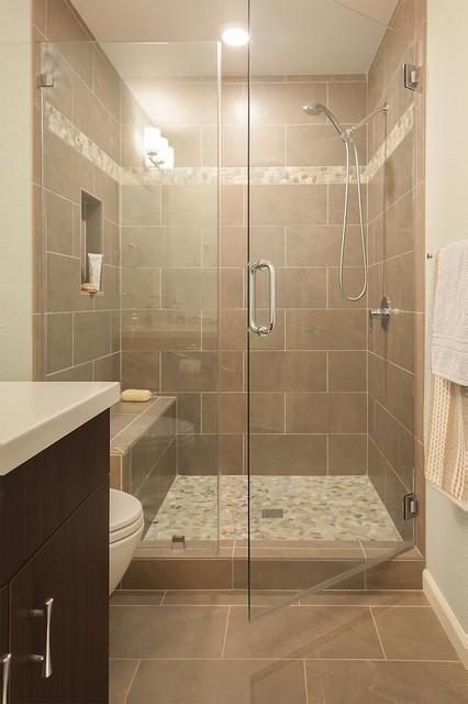beachy alameda master and hall bathroom remodels maritim badezimmer san francisco von. Black Bedroom Furniture Sets. Home Design Ideas