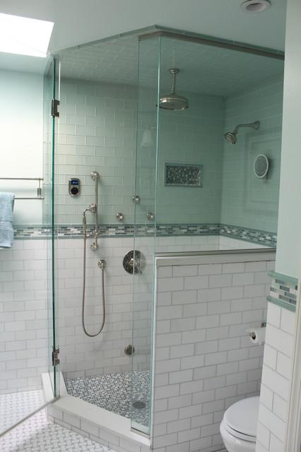 Beachy amp Coastal Master Bath Beach Style Bathroom