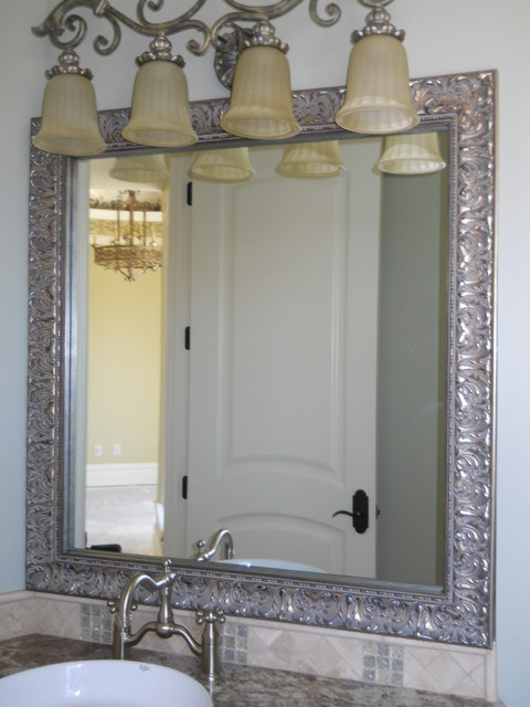 Beautiful And Elegant Mirror Frame Kits Traditional Bathroom Salt Lake City By Reflected