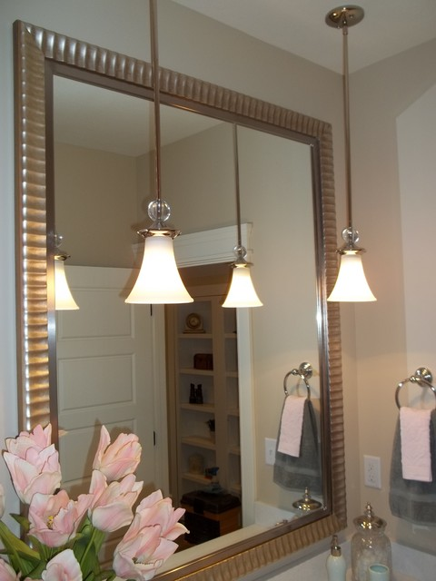 beautiful and elegant mirror frame kits traditional