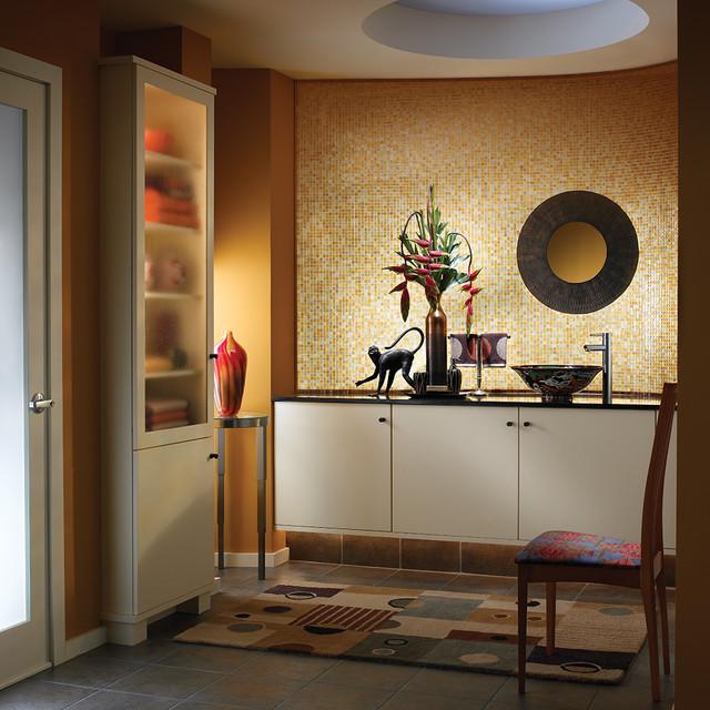 Wood Mode Custom Cabinetry Home: Beautiful Baths