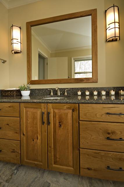 Beautiful Craftsman Style Master Bathroom Traditional