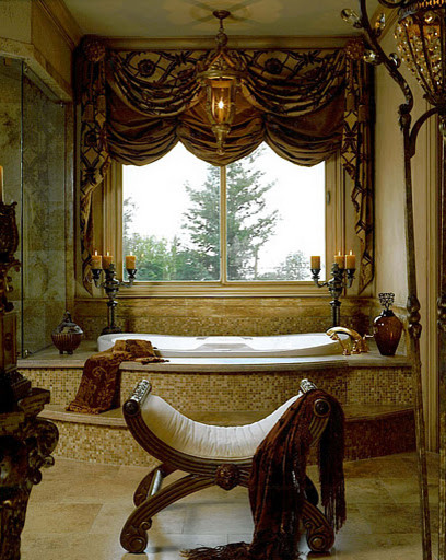 Beautiful Master Bath mediterranean bathroom