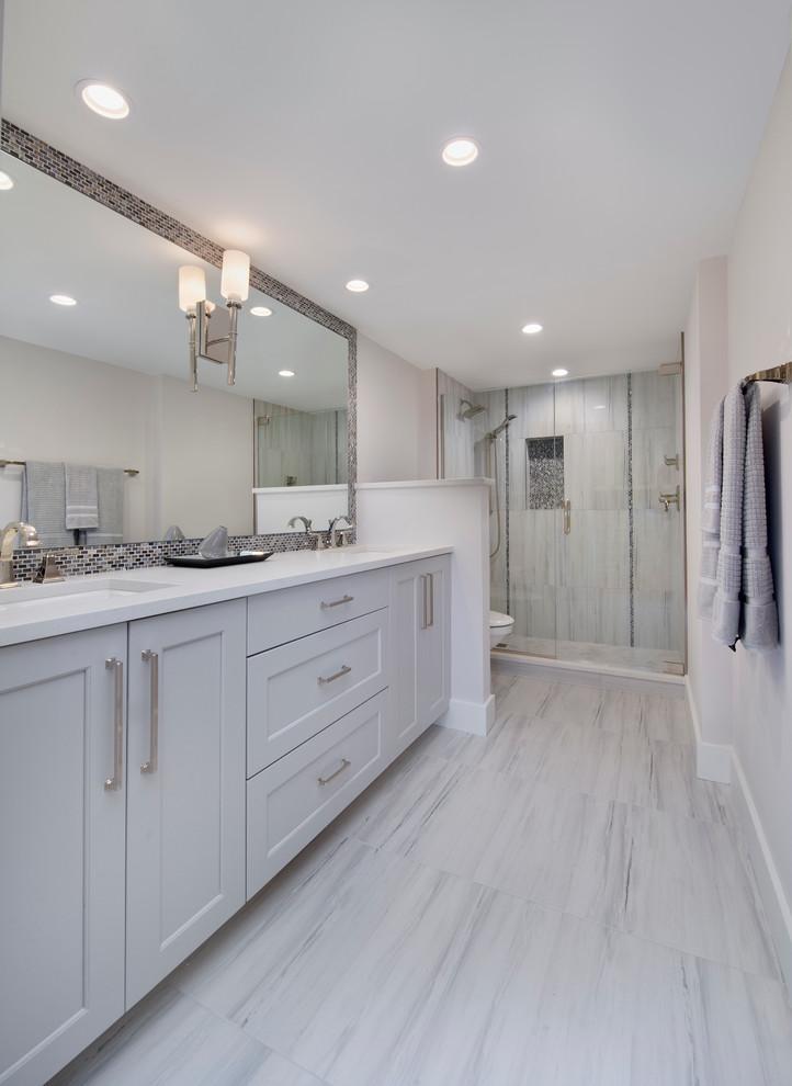 Beautiful Master Bath Transitional Bathroom Miami By Tec Construction Development Houzz