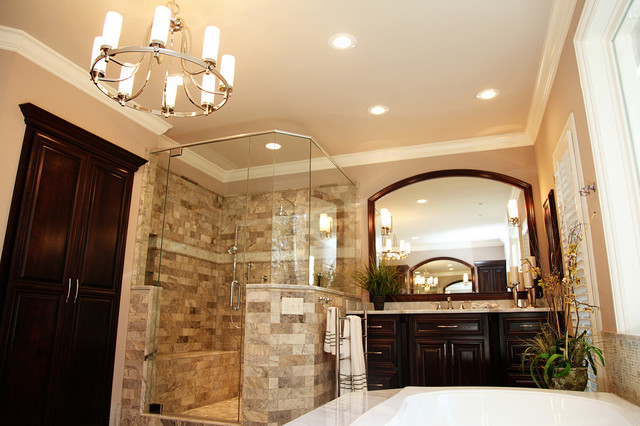 Beautiful master bathroom traditional bathroom for Gorgeous bathroom designs