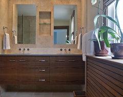 Beautiful renovation in historic Mt. Pleasant contemporary-bathroom