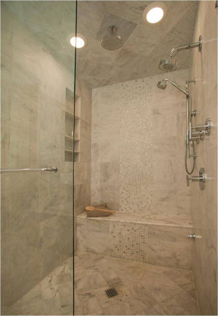 Beautiful Steam Shower traditional-bathroom