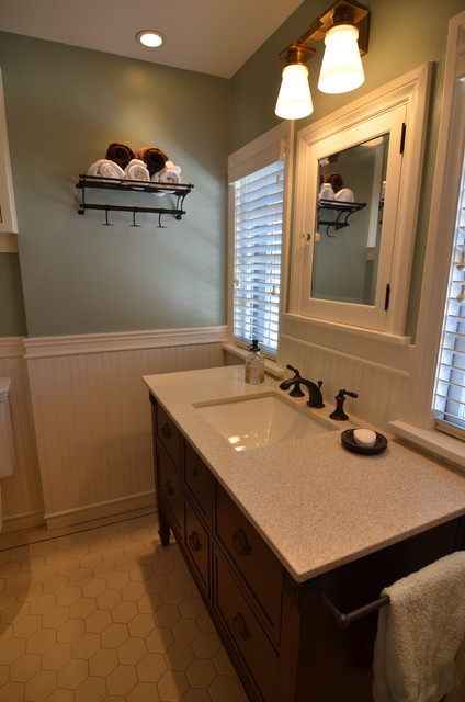 Beautiful Update To A Traditional Bathroom Traditional