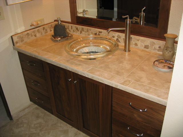Beautiful vanity for Asian style bathroom vanities