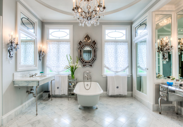 Beaux-Arts Bath traditional-bathroom