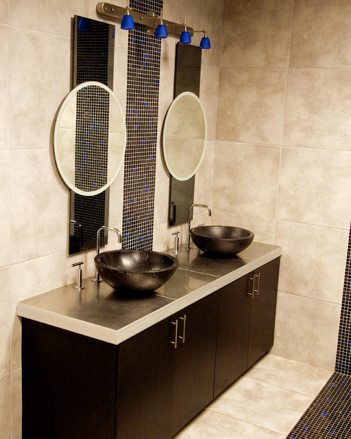 Beaver Tile Showroom - Shelby Twp, MI contemporary bathroom