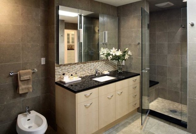 Becker Architects contemporary-bathroom
