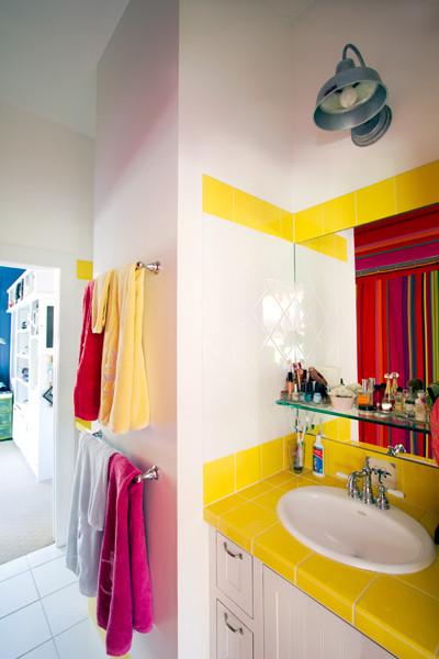 Bedrooms and Bathrooms - Tropical - Bathroom - orlando - by Barn Light Electric Company