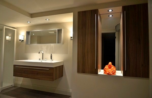 Beechnut Bathroom contemporary-bathroom