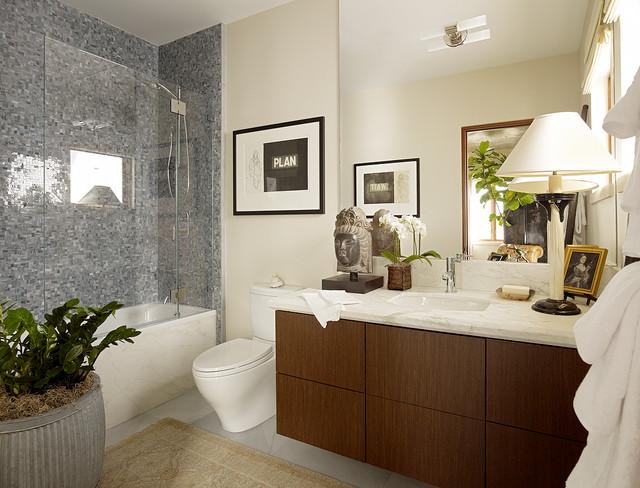 Bella Vista Guest Room modern bathroom. Bella Vista Guest Room   Modern   Bathroom   San Francisco   by