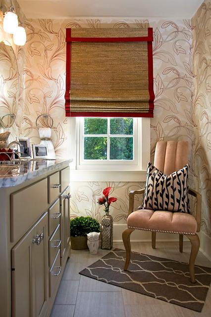 Bellarmine Designer Show House Bathroom eclectic-bathroom